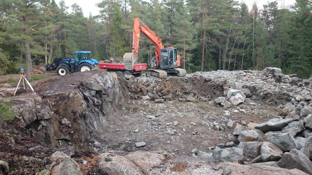 Kaivinkoneurakointia - Kaivuupalvelu Petteri Lehtonen Kustavi